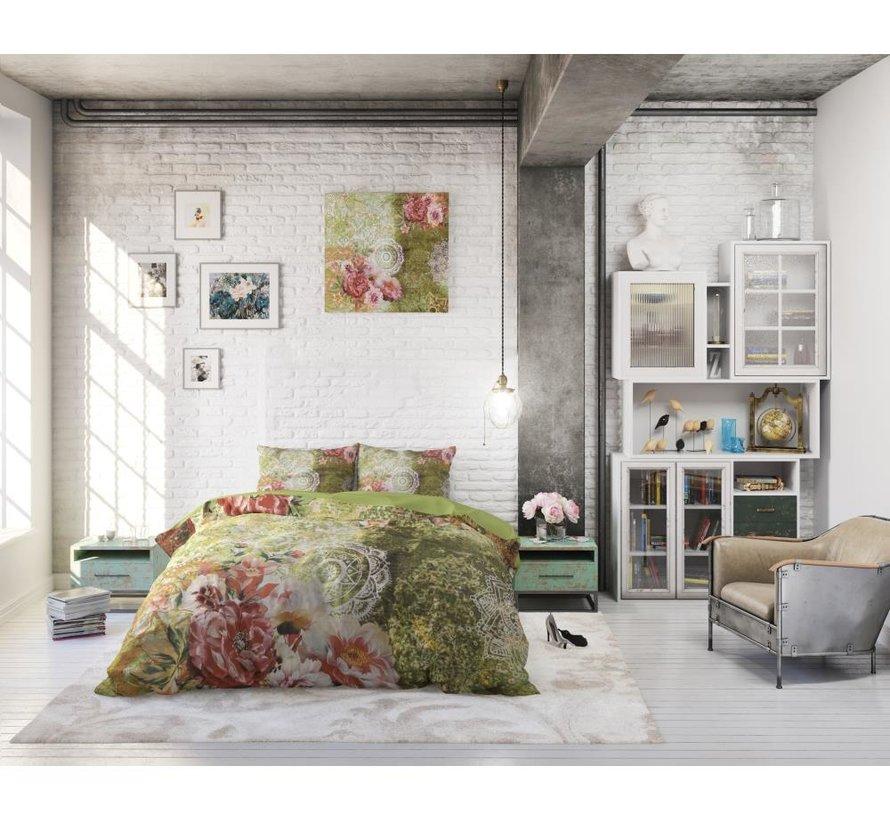 Green Flower Art - Groen