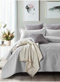 Sleeptime Bedsprei - Wave - Zilver