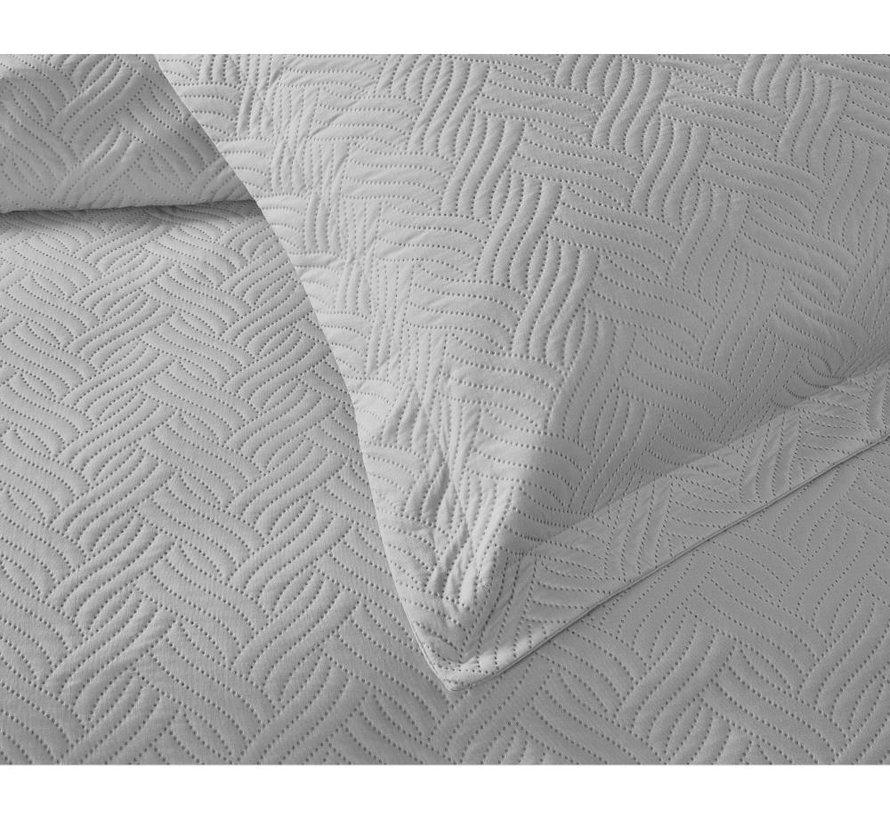 Bedsprei - Wave - Zilver