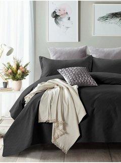 Sleeptime Bedsprei - Wave - Zwart