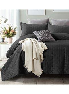 Sleeptime Bedsprei - Chrone - Zwart