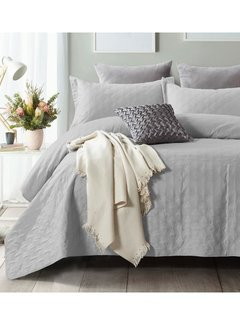 Sleeptime Bedsprei - Chrone - Zilver