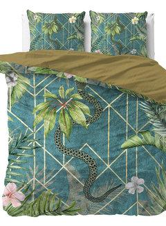 Sleeptime Palm Wood - Blauw/Groen