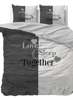 Sleeptime Love Sleep - Antraciet/Wit