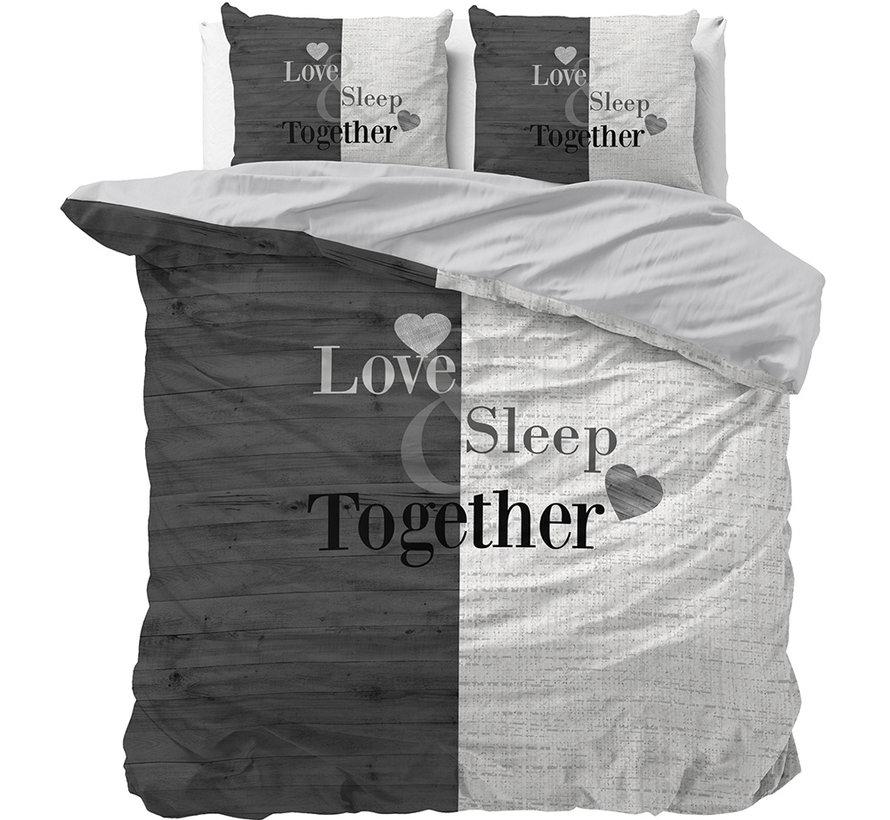 Love Sleep - Antraciet/Wit