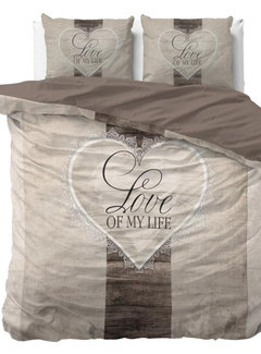 Dreamhouse Bedding Love of my Life - Taupe