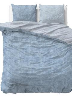 Sleeptime Twin Washed - Flanel - Blauw