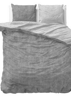 Sleeptime Twin Washed - Flanel - Grijs