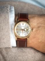 Rolex SOLD-Rolex Datejust 1601 rose gold 1963