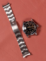 Rolex Rolex Submariner 5513 Gilt White Swiss Only Dial 1963 Pointed Crown Guards