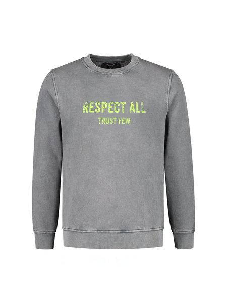 Gigi Vitale Respect All Trust Few - Vintage Sweater