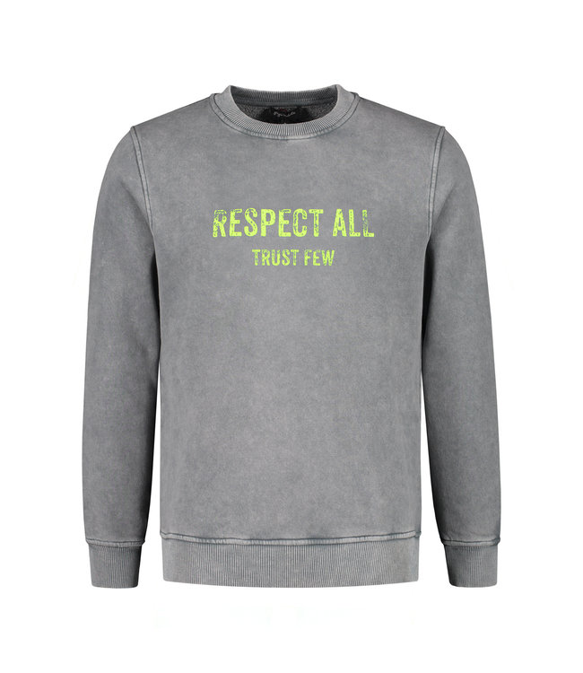 Gigi Vitale Respect All Trust Few - Vintage Sweater
