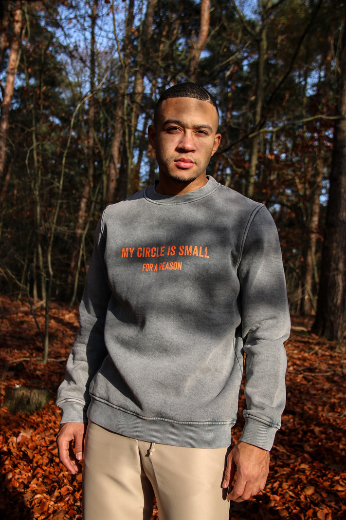 My Circle is Small - Vintage Sweater