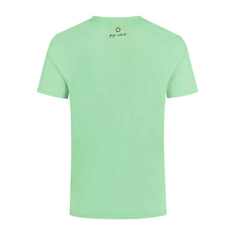 Circle Got Smaller Mint Green - T-shirt