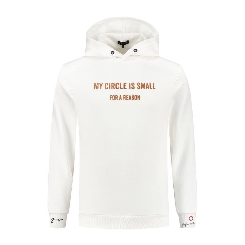 Gigi Vitale My Circle Is Small White/Mocha - Hoodie
