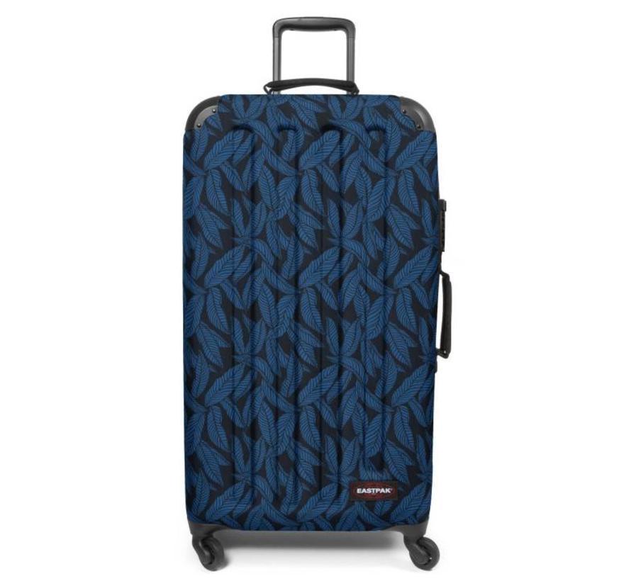 5664747da67 Eastpak Koffer Blauw Tranzshell L Leaves Blue Kopen? - ByMetz.nl ...