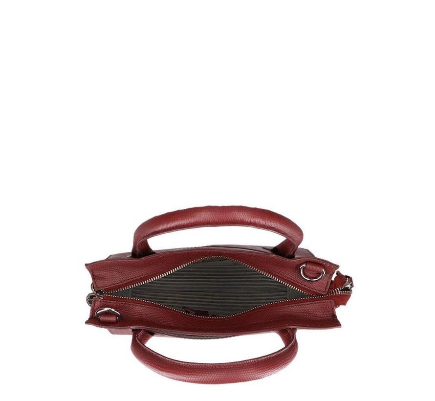 Medium Lovely Lizard Dark Red