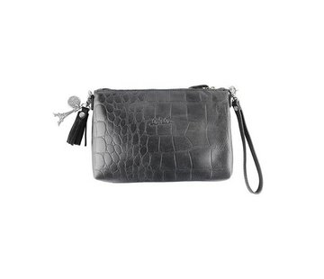 By LouLou / LouLou Essentiels Lou Lou Essentiels Pouch Vintage Croco Black