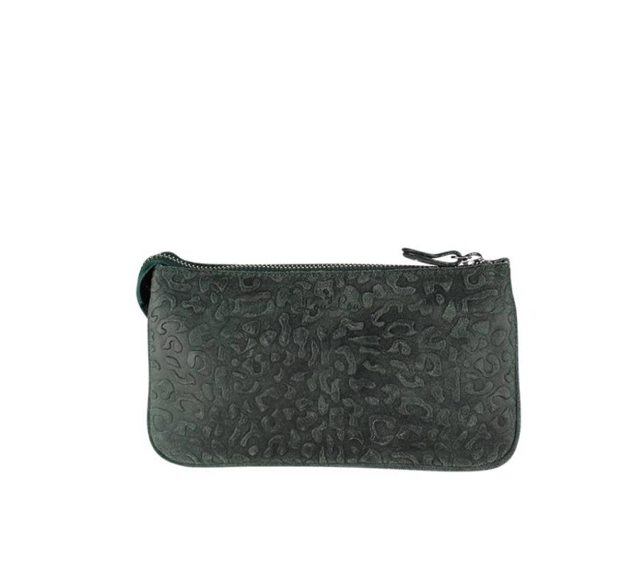 Bag Pouch Lovely Leopard Green
