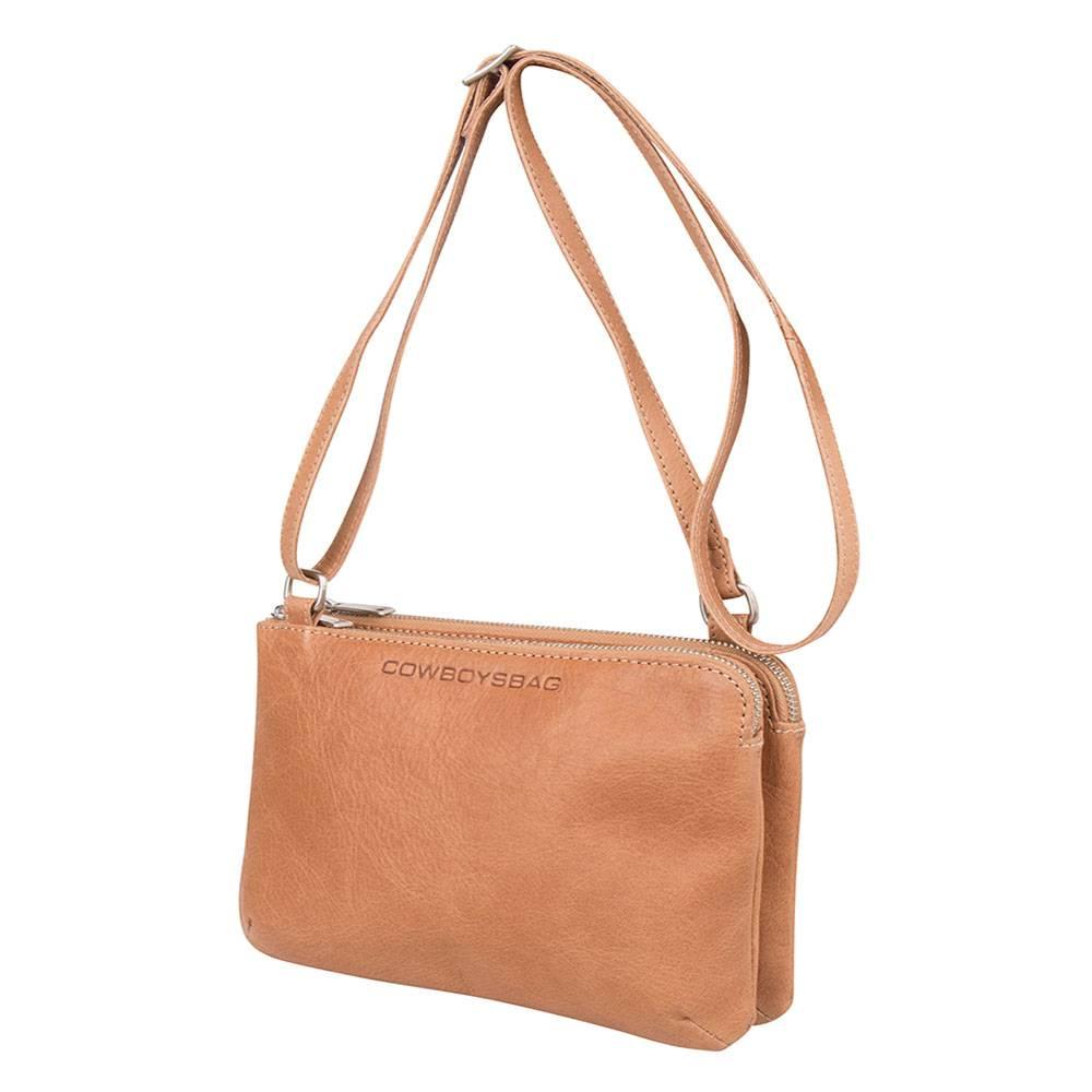 Cowboysbag Portemonnee Heren.Cowboysbag Bag Adabelle Camel Schoudertas Kopen Bymetz Nl