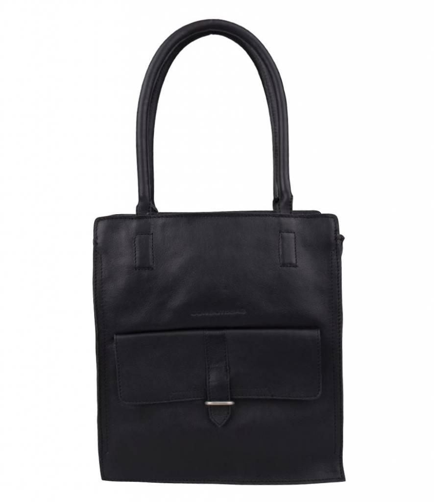 4f6ef16459d Cowboysbag Bag Stanton Black Handtas Kopen? - ByMetz.nl | Tassen ...
