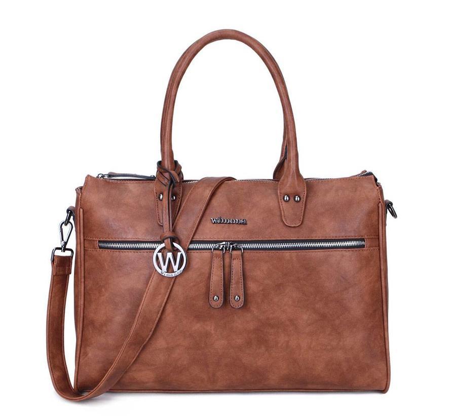 Wimona Fabiana-Two Dames Laptoptas Cognac