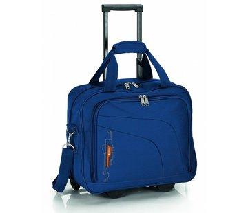 Gabol Transavia Cabin Size Gabol Week Pilot Case Blue