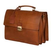 Burkely Burkely Vintage Dean Briefcase Cognac