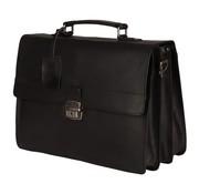 Burkely Vintage Dean Briefcase Black