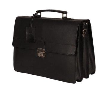 Burkely Burkely Vintage Dean Briefcase Black