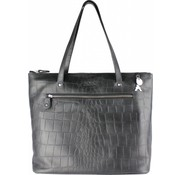 By LouLou / LouLou Essentiels Lou Lou Essentiels Medium Vintage Croco Black