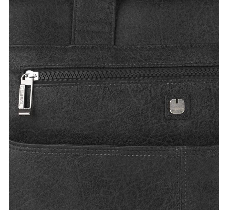 272381222e8 Gabol RFID Anti Skim Laptoptas 15,6 inch 2 Vakken Zwart Kopen ...