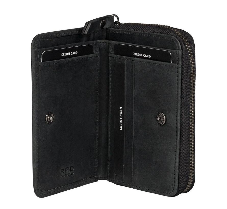 Lois Lane Mini Wallet Black