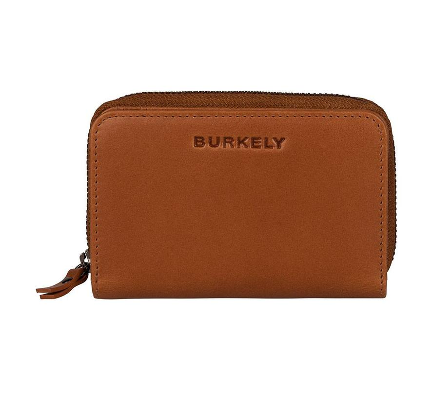 Burkely Lois Lane Mini Wallet Cognac