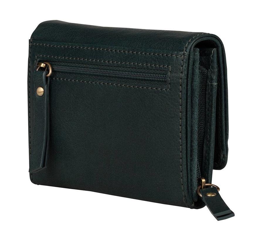 Burkely Sylie Star Medium Wallet Green