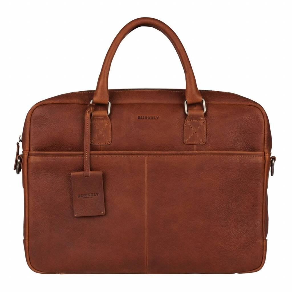 004343813c7 Burkely Antique Avery Leren Laptoptas 15.6 inch Cognac Kopen ...