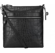By LouLou / LouLou Essentiels Lou Lou Essentiels Crossbody Vintage Croco Black