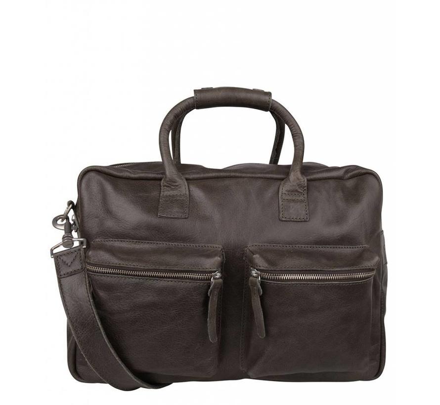 Cowboysbag Schooltas The Bag Storm Grey
