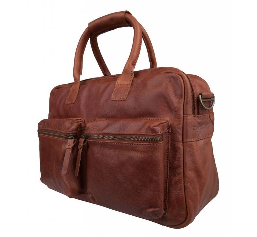 Cowboysbag Schooltas The Bag Cognac
