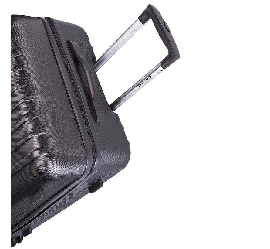 Decent Grote Koffer Tranporto One 76 Antraciet