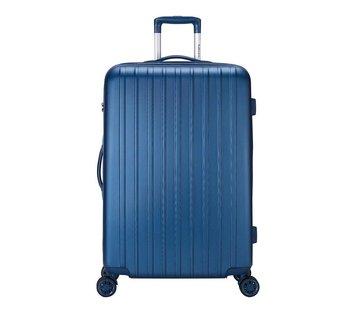 Decent Decent Grote Koffer Tranporto One 76 Dark Blue