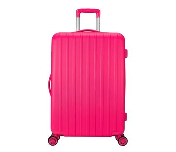 Decent Decent Grote Koffer Tranporto One 76 Roze