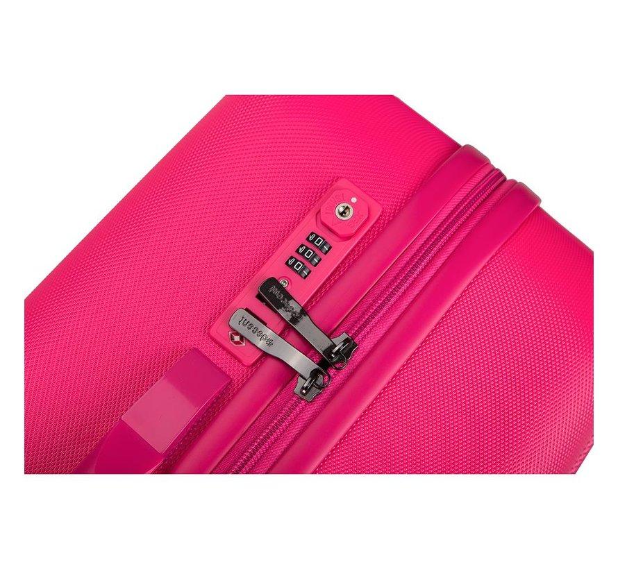 Decent Grote Koffer Tranporto One 76 Roze