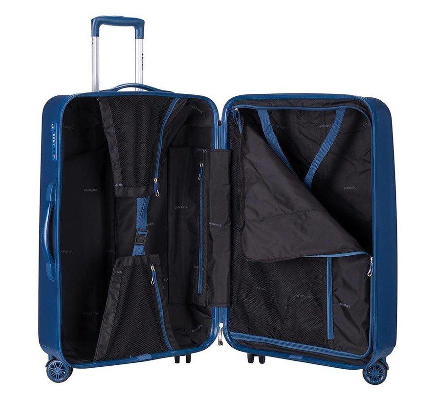 Decent Medium Koffer Tranporto One 66 Dark Blue