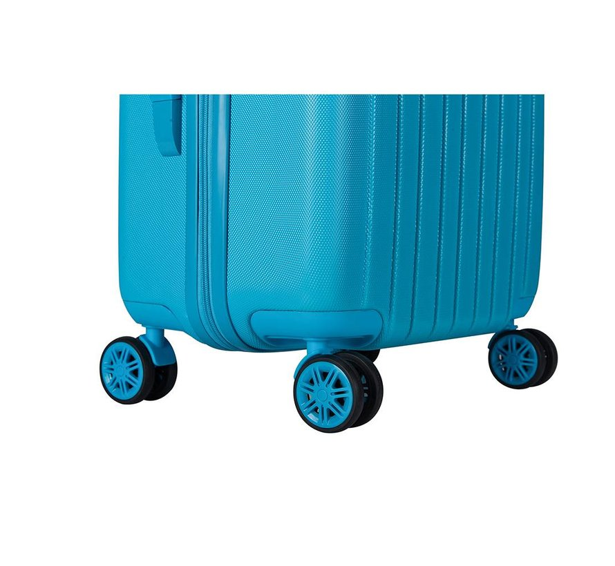Decent Medium Koffer Tranporto One 66 Aqua