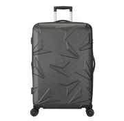 Decent Uitbreidbare Koffer Groot Q-Luxx 77 Antraciet