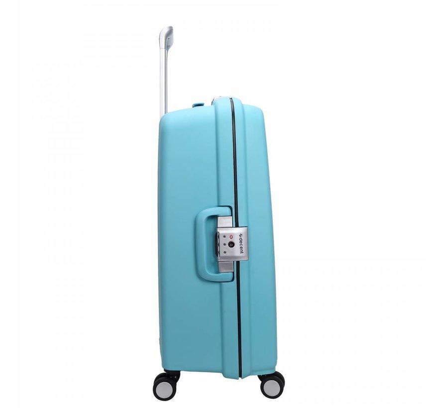 Decent Sportivo One Koffer 67cm Aqua Blauw