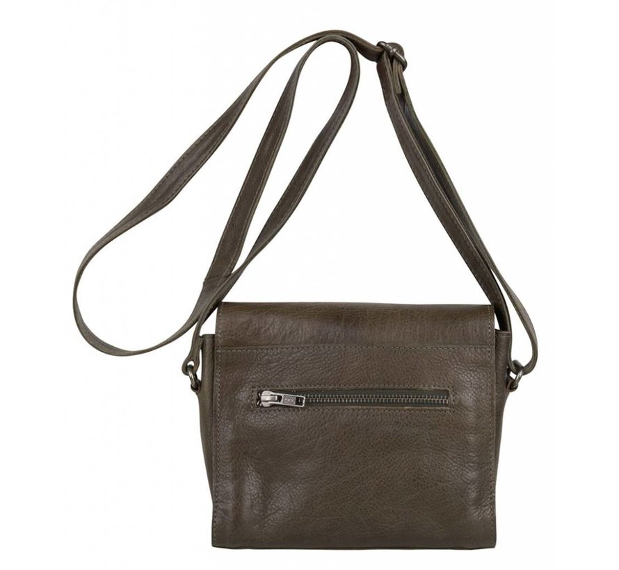 Cowboysbag Schoudertas Bag Rowe Hunter Groen