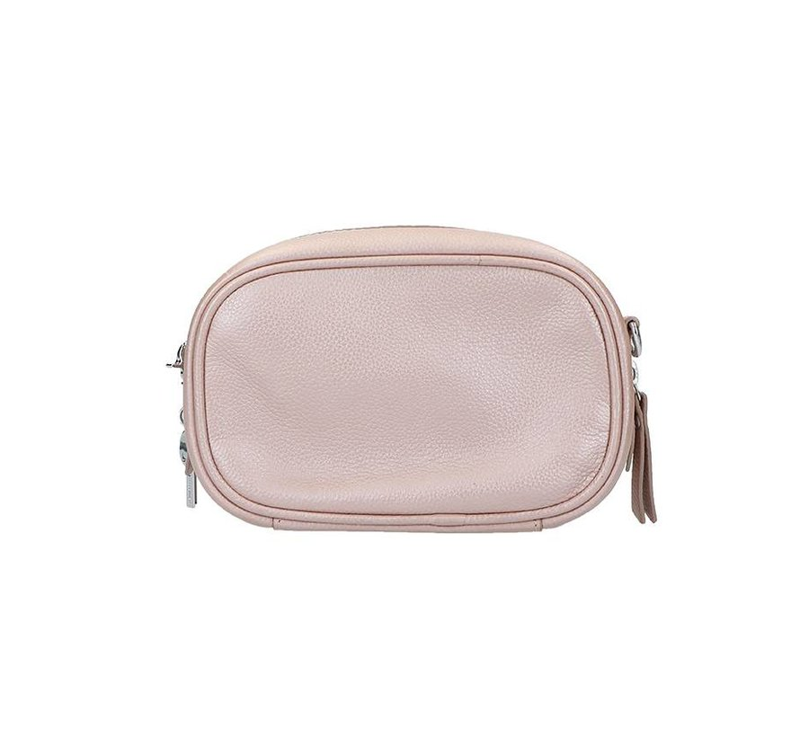 LouLou Pouch Pearl Shine Rose