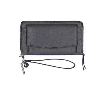 By LouLou / LouLou Essentiels By LouLou Portemonnee Pearl Shine Dark Grey